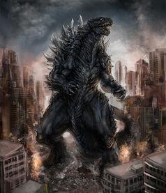 Godzilla by diovega-d5x8cic