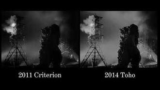 Godzilla (1954) - Restoration Comparison 3