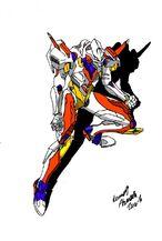 Neo Daikaiju JET JAGUAR by Dino master