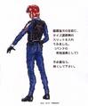 Concept Art - Godzilla vs. Megaguirus - G-Grasper Uniform 3