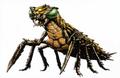 Concept Art - Godzilla vs. Megaguirus - Meganulon 1