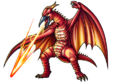 Godzilla X Monster Strike - Fire Rodan