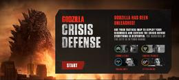 Godzilla Crisis Defense