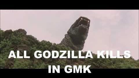 All Godzilla kills in GMK (Godzilla, Mothra, King Ghidorah Giant Monsters All Out Attak)