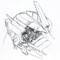 Concept Art - Godzilla Tokyo SOS - Kiryu Damaged Eye 2