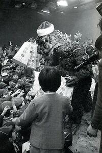 Godzilla Is Santa Claus