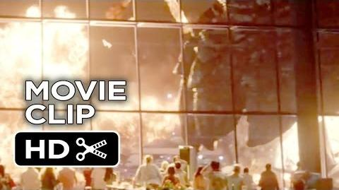 Godzilla CLIP - Monster Mash (2014) Bryan Cranston Monster Movie HD