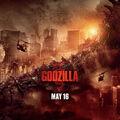 Godzilla Poster G iPad