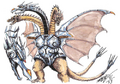 Concept Art - Godzilla vs. King Ghidorah - Mecha-King Ghidorah 2