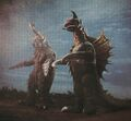 GVM - Gigan and Megalon Side by Side