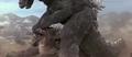 Godzilla vs. MechaGodzilla - Anguirus gets King King'd by Fake Godzilla