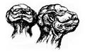 Godzilla Concept Art -Head-