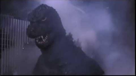 Godzilla 1985 stomp crush destroy