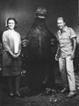IOAM - Godzilla and Three People