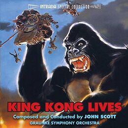 King Kong Lives - Soundtrack cover
