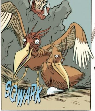 Mutant Bird IDW