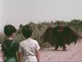 Go! Godman - Godman vs. Batman - 4 - Look at my wings, my wings are amazing