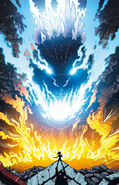Godzilla rulers of earth issue 13 cover by kaiju by superidot9000-d81o8go