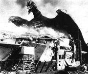 Rodan-fliegendes monster von osaka