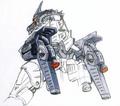 Concept Art - Godzilla Tokyo SOS - Kiryu Rocket Launcher 2