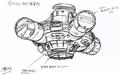 Concept Art - Godzilla vs. Megaguirus - Dimension Tide 1