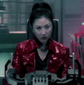 Miyuki at the helm