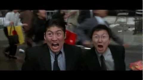 Austin Powers in Goldmember - Godzilla Scene