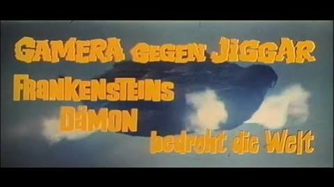 Gamera vs. Jiger - German Theatrical Trailer