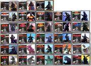 Godzilla 50th Anniversary Memorial Box Cards