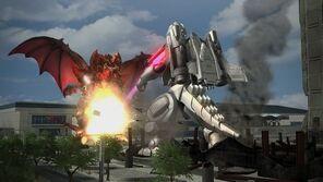 MechaGodzilla 2 vs Destoroyah en Godzilla The Game