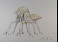 Concept Art - Yamato Takeru - Spider Kumasogami 4