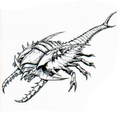 Concept Art - Godzilla vs. Destoroyah - Destoroyah 15