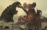 Godzilla Junior vs Destroyah