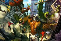 Marvel Godzilla in Mighty Avengers 1
