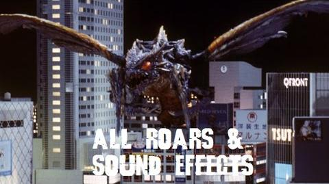 All Megaguirus Roars & Sound Effects