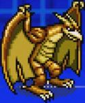 Gojira Kaiju Dairantou Advance - Character Sprites - Rodan