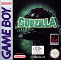 Godzilla gameboy EU boxart