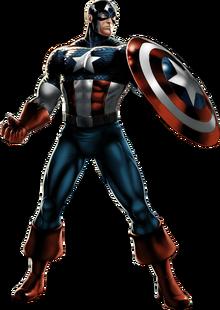 Captain America Portrait Art