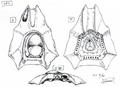 Concept Art - Godzilla 2000 Millennium - Millennian UFO 2