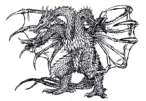 File:Concept Art - Rebirth of Mothra 3 - Grand King Ghidorah 2.png