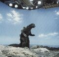 EHOTD - Godzilla On Set