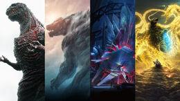 Godzilla - Toho reboot series