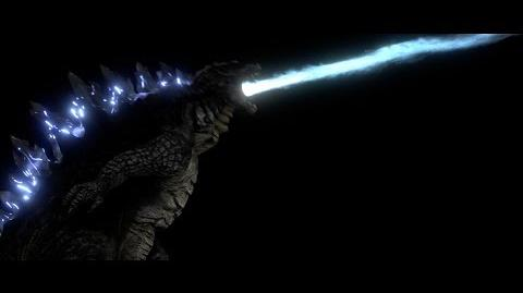 (Blender 3D) Legendary Godzilla Atomic Breath Test