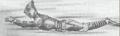 Concept Art - Godzilla vs. Megalon - Jet Jaguar 1