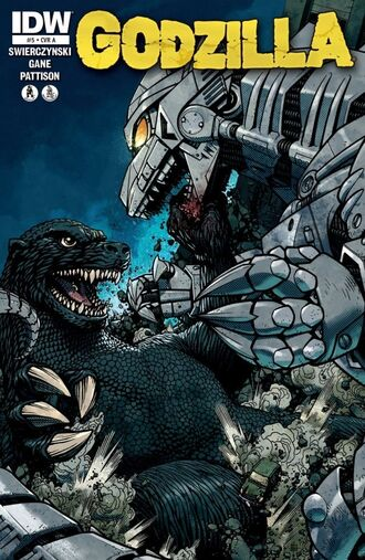 ONGOING Issue 5 CVR A