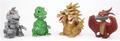 Toy Godzilla Bobbleheads ToyVault