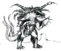 Concept Art - Godzilla vs. Destoroyah - Destoroyah 18