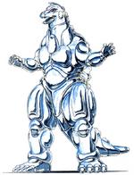Concept Art - Godzilla vs. MechaGodzilla 2 - MechaGodzilla 9