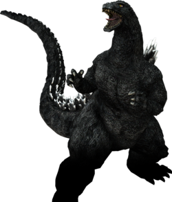 PS3 Godzilla 1989 No Background