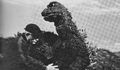 AMA - Godzilla and Man with Sunglasses